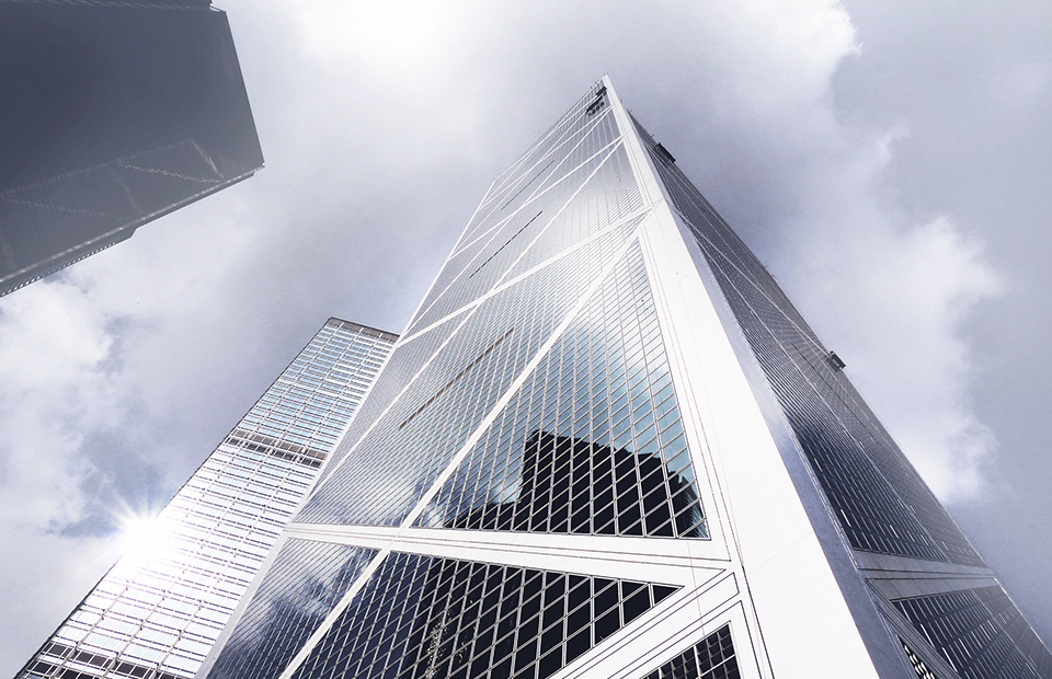 Здание Bank of China Tower, Гонконг