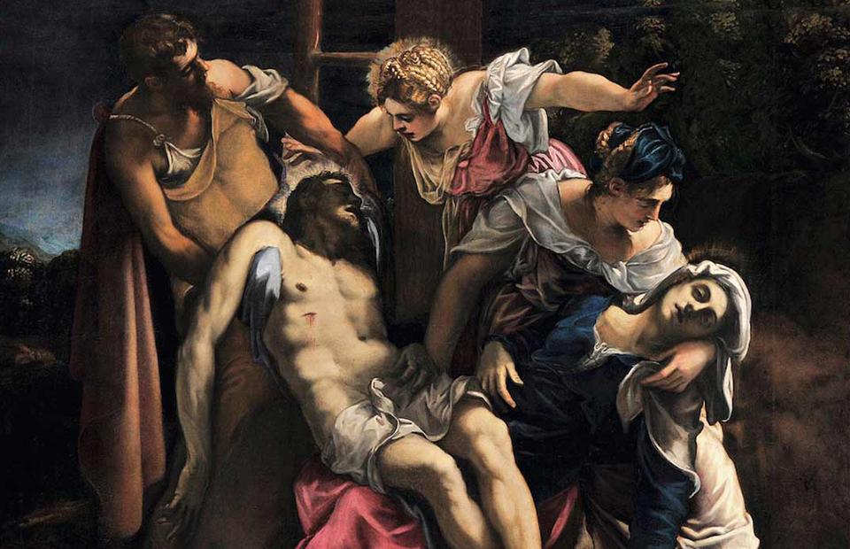 Якопо Робусти, прозванный Тинторетто. «Снятие с креста», около 1560