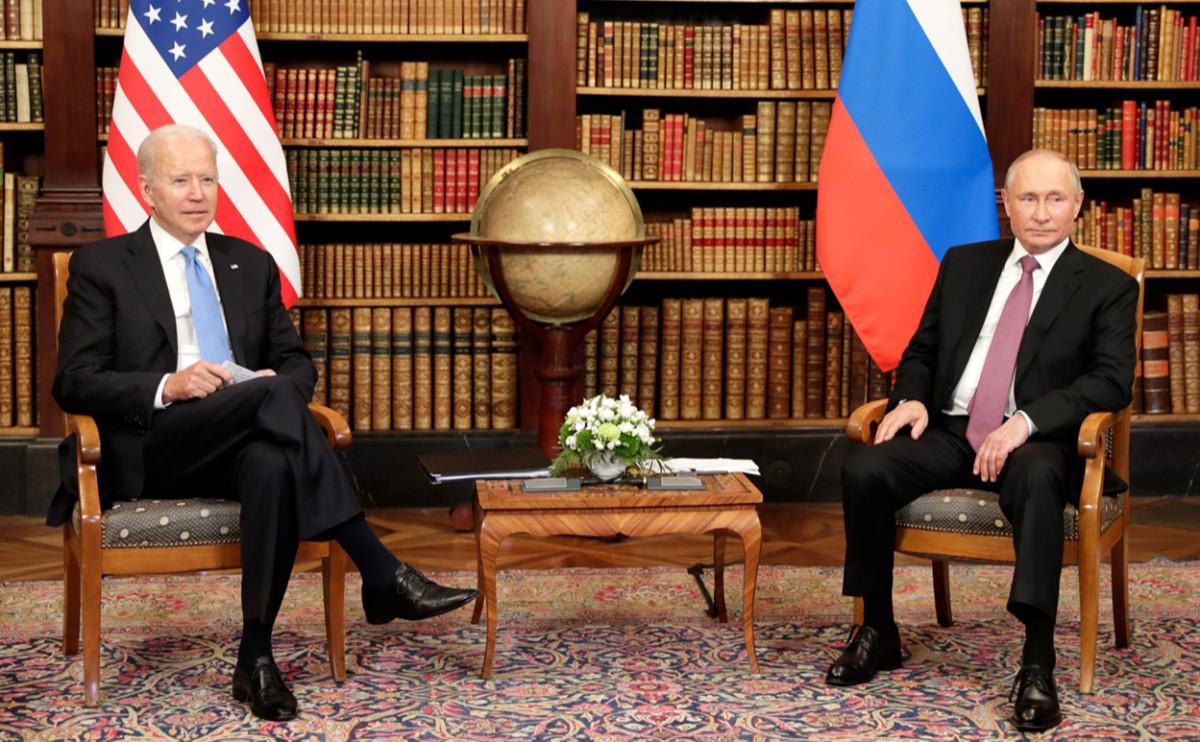 Встреча Путина и Байдена продлилась почти 4 часа :: Политика :: РБК