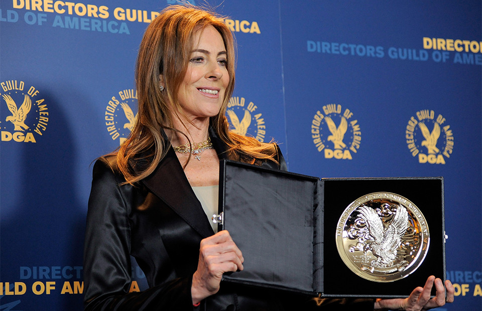 Режиссер Кэтрин Бигелоу на 65-ой ежегодной Гильдии режиссеров Америки (DGA), Лос-Анджелес 2013 г.