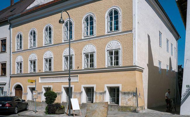 Дом вБраунау, гдеродился Адольф Гитлер
