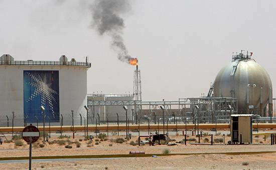 Нефтяное месторождение Хурайс неподалеку отЭр-Рияда