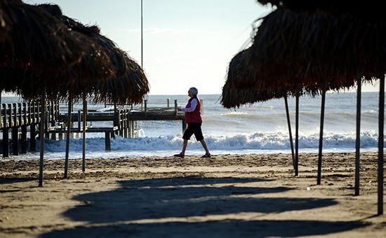 Пляж вТурции