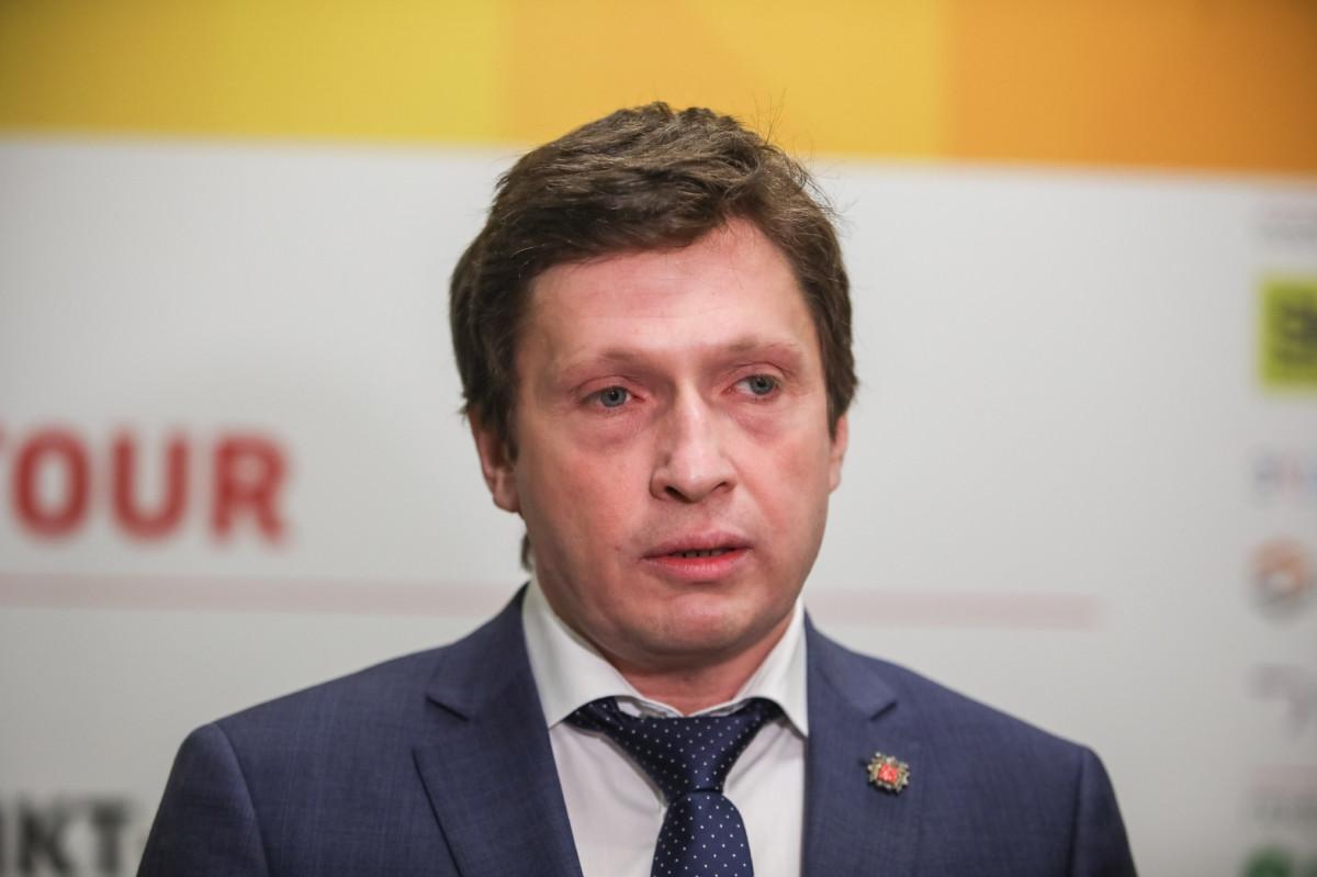 Глава петербургского комитета по промышленной политике, инновациям и торговле Кирилл Соловейчик