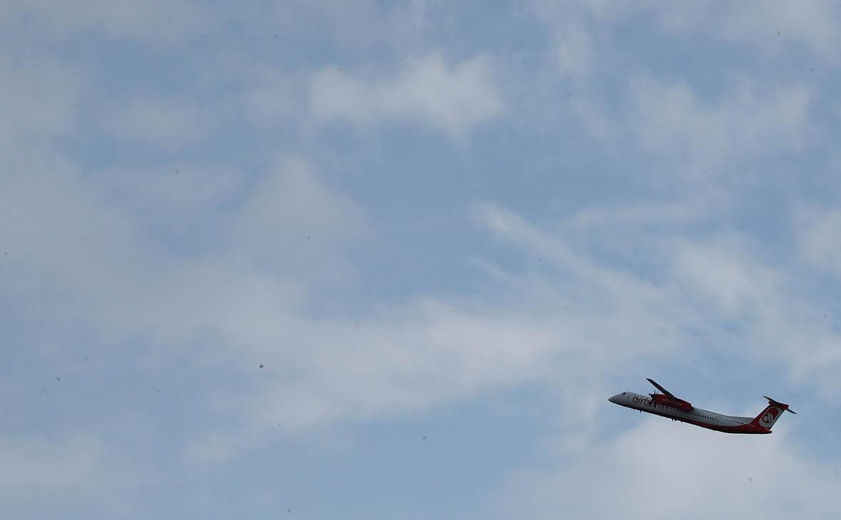 Самолет Bombardier Q400