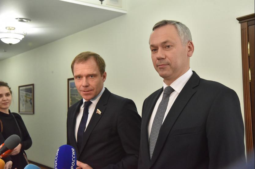 Андрей Травников иАндрей Кутепов