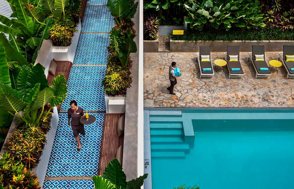 Отель Viroth's, Камбоджа