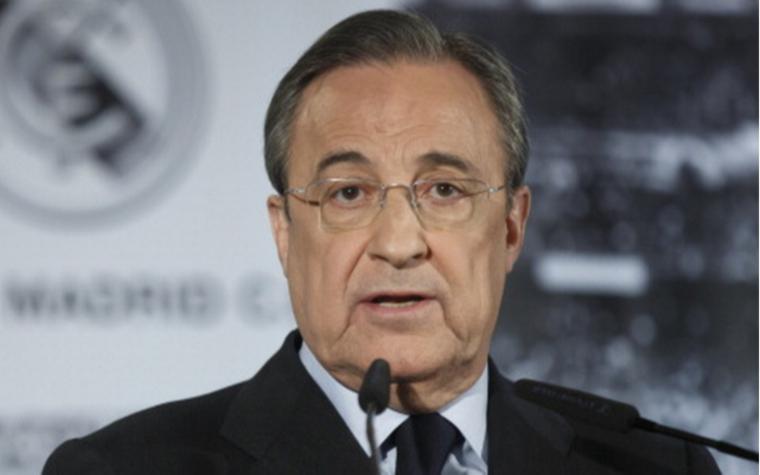 Глава Суперлиги и президент мадридского «Реала» Флорентино Перес