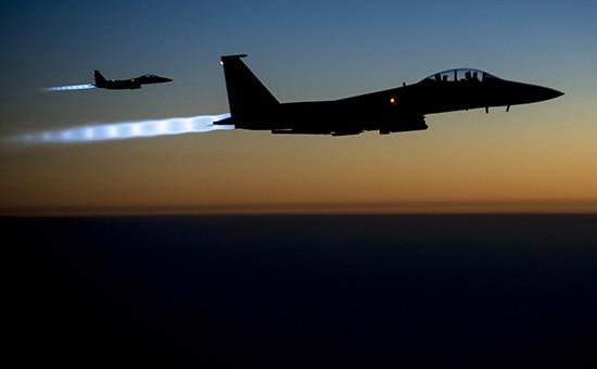 Истребители F15С Eagle. Архивное фото