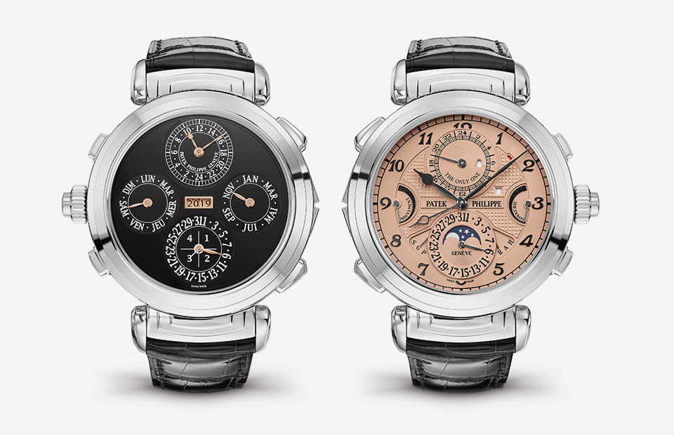 Часы Grandmaster Chime,Patek Philippe с поворотным корпусом
