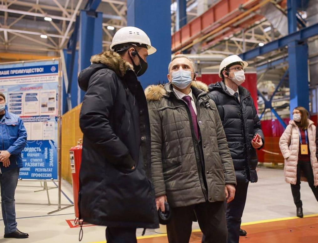 Рабочая встреча на заводе«ВКО Алмаз-Антей»