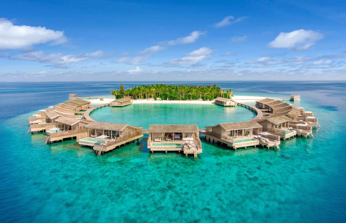 15 водных резиденций Kudadoo Private Island
