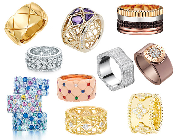 Фото: пресс-материалы Boucheron; Chanel; Bulgari; Messika; Montblanc; Piaget; Chopard; Tiffany & Co.; Dior; Fabergé; Roberto Coin; Van Cleef & Arpels