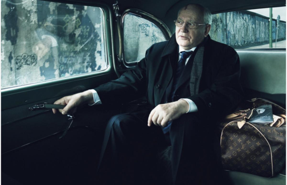 Михаил Горбачев в рекламной кампании Louis Vuitton