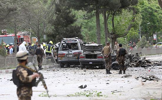 Место взрыва вКабуле