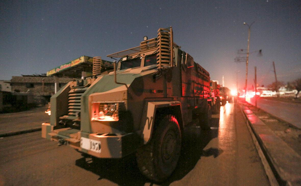 Турецкие военные силы в провинции Идлиб, Сирия
