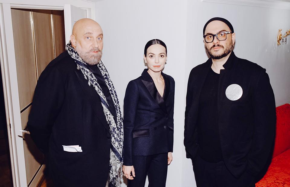 Павел Каплевич, Диана Вишнева и Кирилл Серебренников