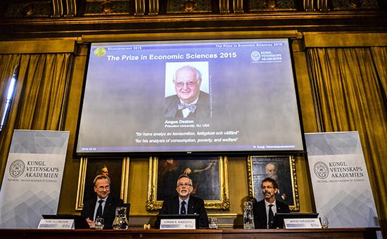 Лауреат Нобелевской премии по экономике профессор Ангус Дитон