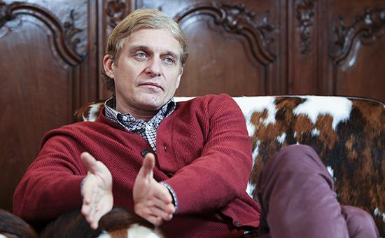 Глава банка «Тинькофф кредитные системы» Олег Тиньков