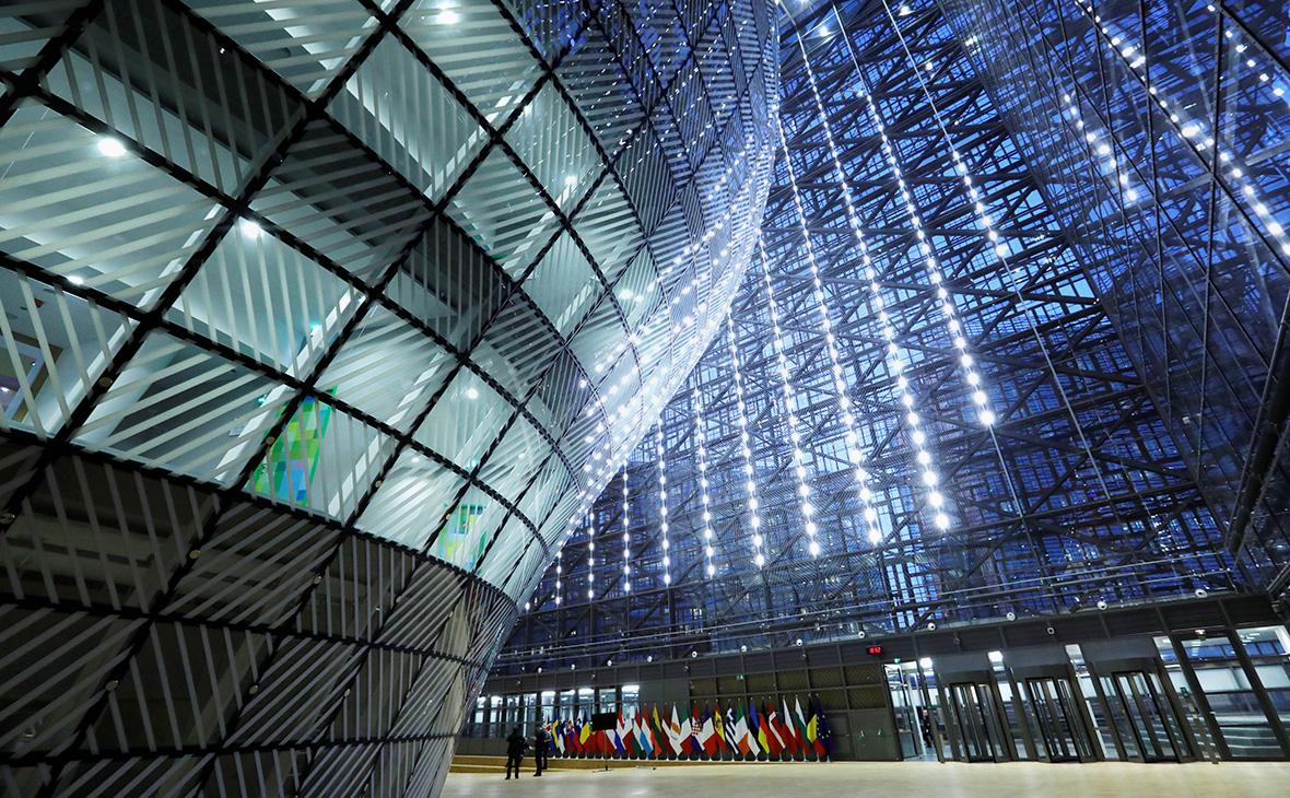Здание Европейского Совета в Брюсселе, Бельгия