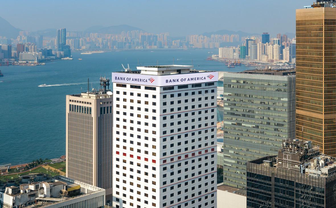 ОфисBank of America в Гонконге