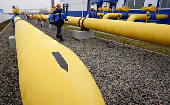 Нити газопровода наГРС «Западная» ОАО«Газпром»