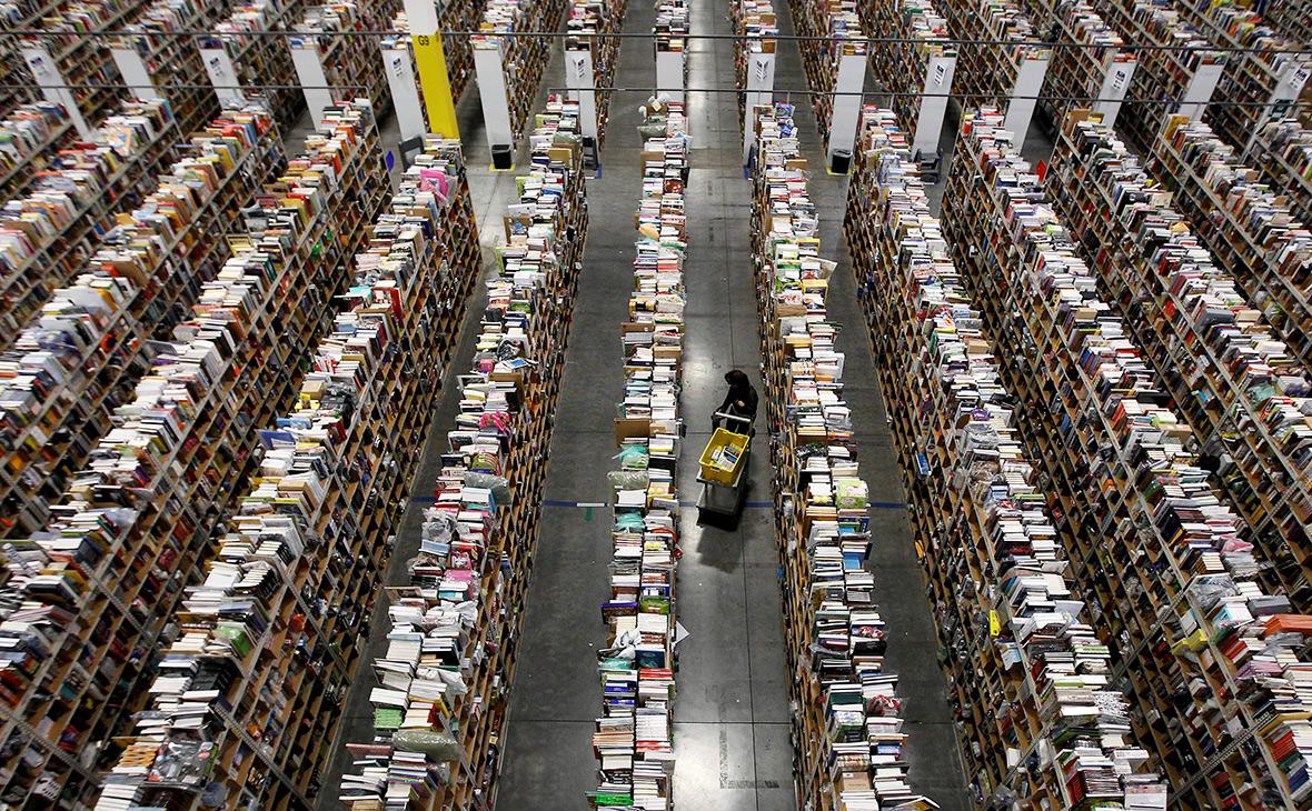 Склад компании Amazon вФениксе