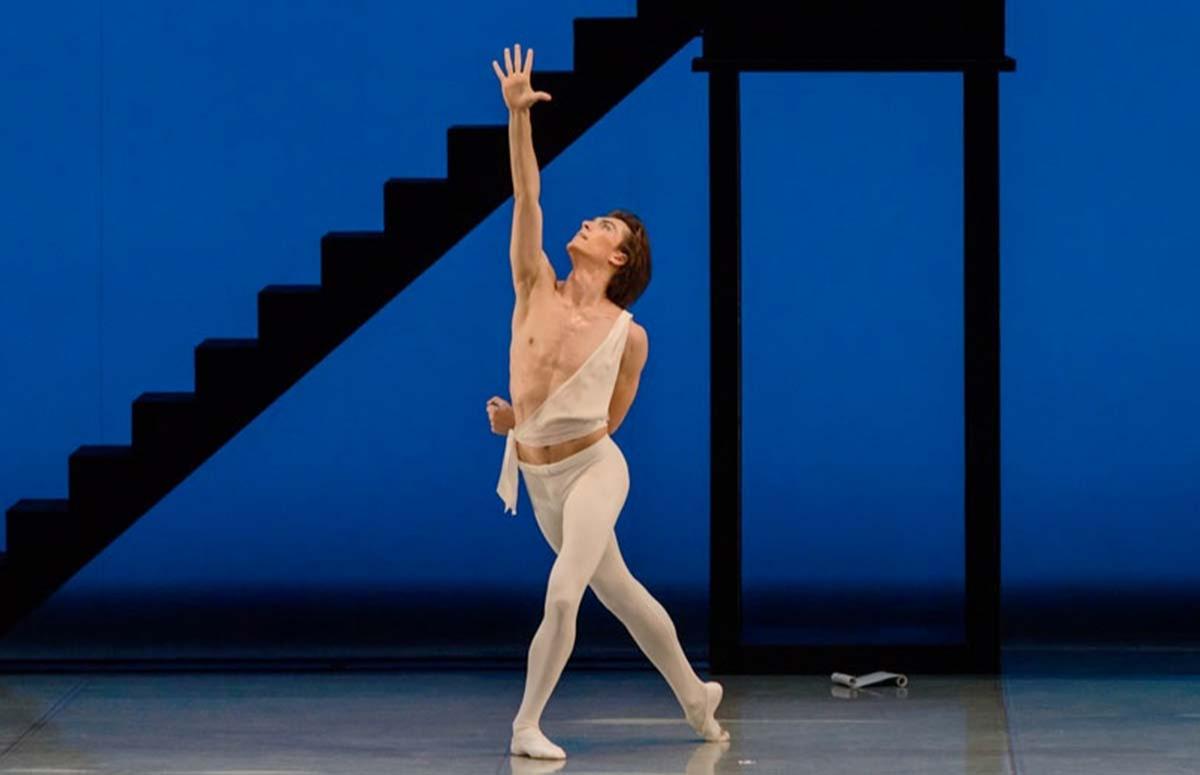 Сцена из балета «Аполлон Мусагет»