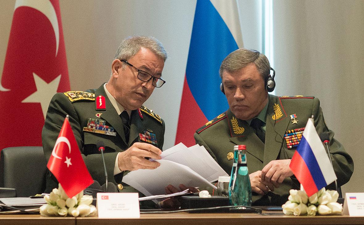 Хулуси Акар и Валерий Герасимов