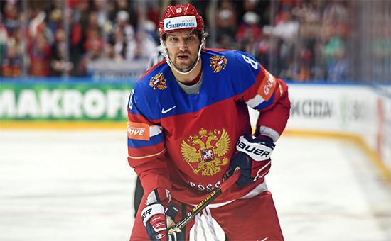 Нападающий сборной России по хоккею и клуба НХЛ Washington Capitals Александр Овечкин
