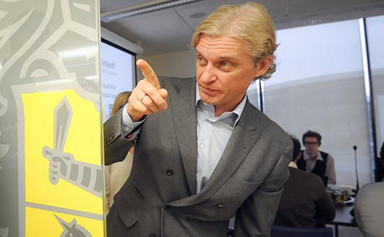 Предприниматель Олег Тиньков