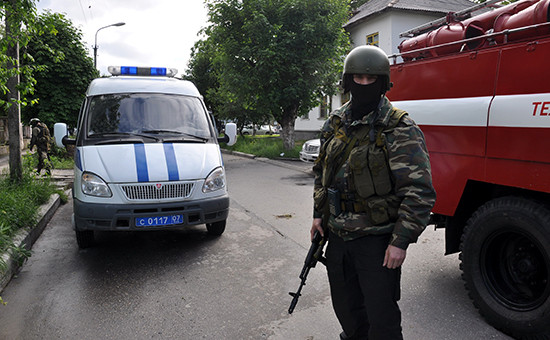 На месте спецоперации понейтрализации боевиков, Нальчик (архивное фото)