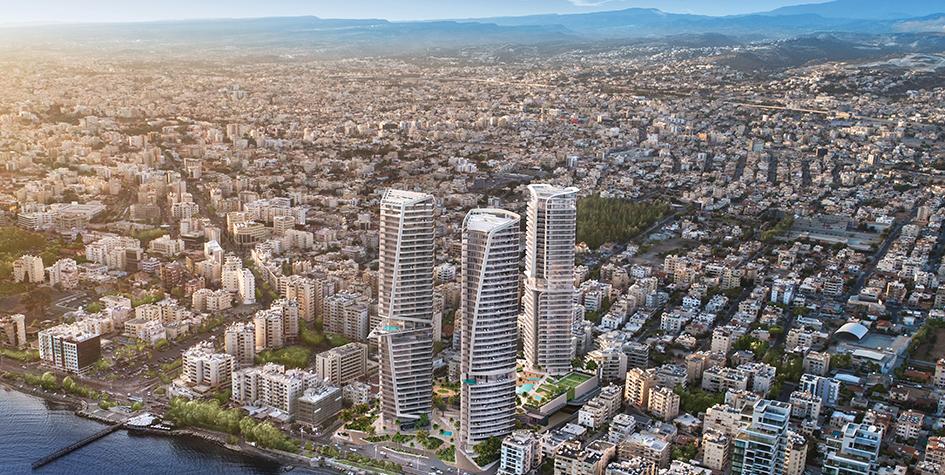 Вид наTrilogy Limassol Seafront