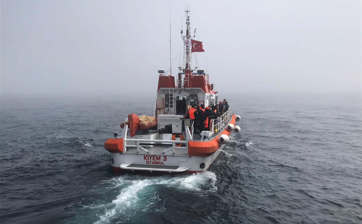 Турецкое поисково-спасательное судно