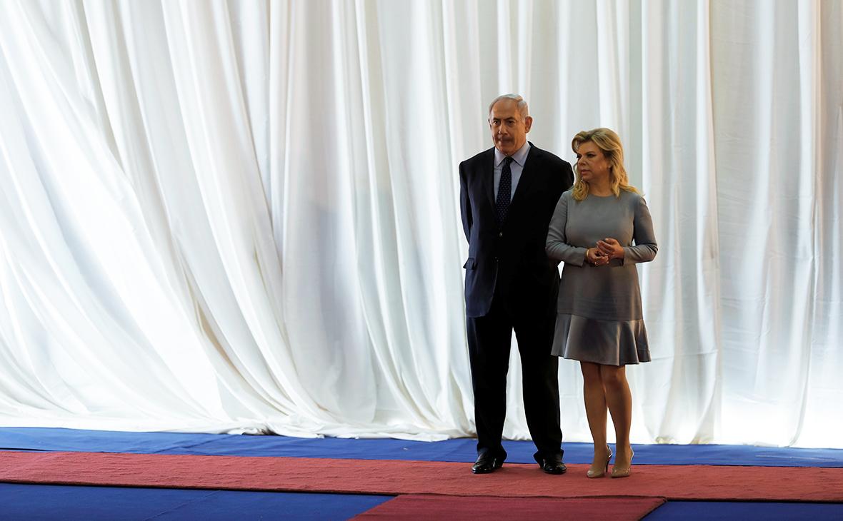 Биньямин Нетаньяху с женой Сарой