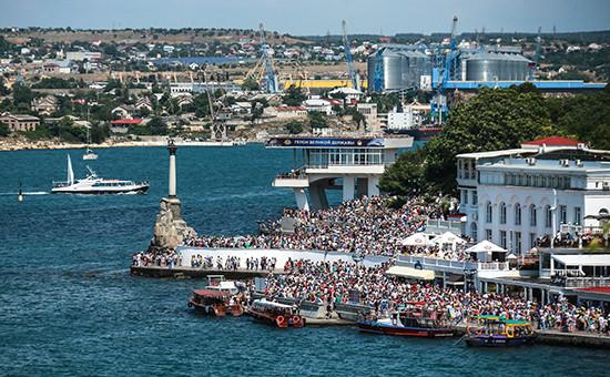 Вид на городСевастополь