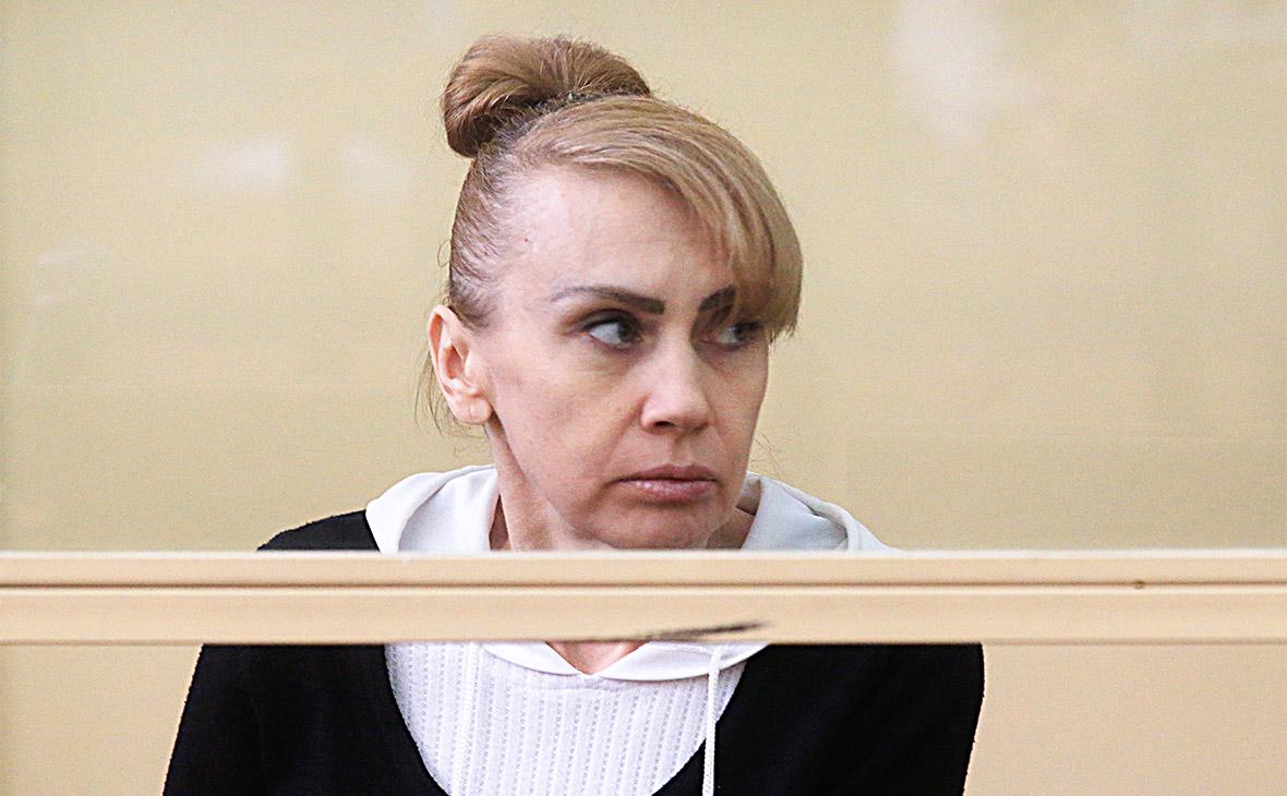 Инесса Тарвердиева во время вынесения приговора в Ростовском областном суде