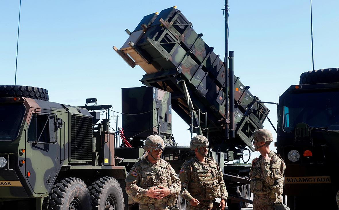 Зенитный ракетный комплекс Patriot