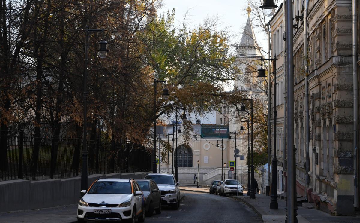 Старосадский переулок в Москве