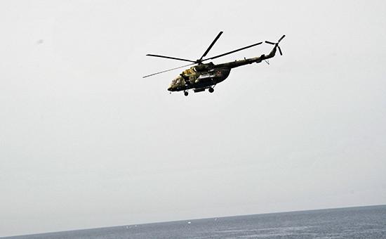 Вертолет Ми-8 вСирии, октябрь 2015 года