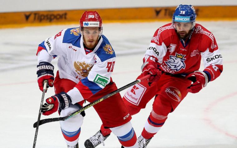 Фото: Россия - Чехия (Фото: пресс-служба Федерации хоккея страны)