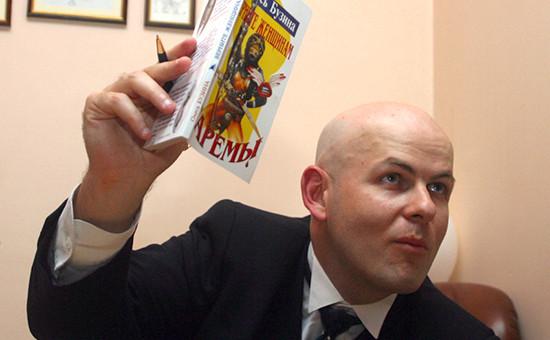 Киевский журналист Олесь Бузина