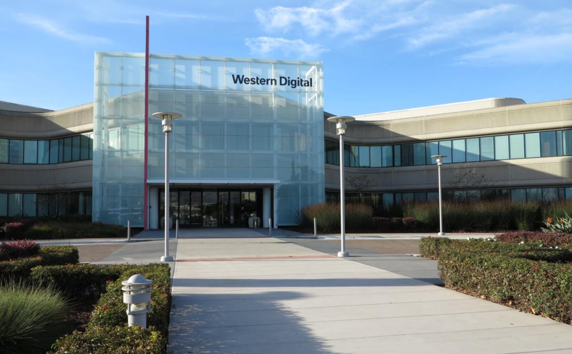 Офис Western Digital в городеМилпитас, Калифорния, США