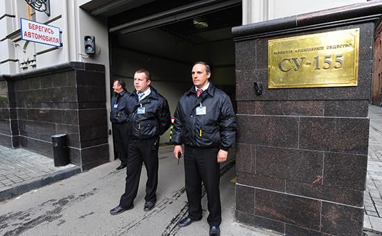 Обыск вофисе СУ-155. Архивное фото