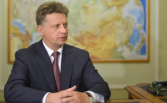Министр транспорта России МаксимСоколов