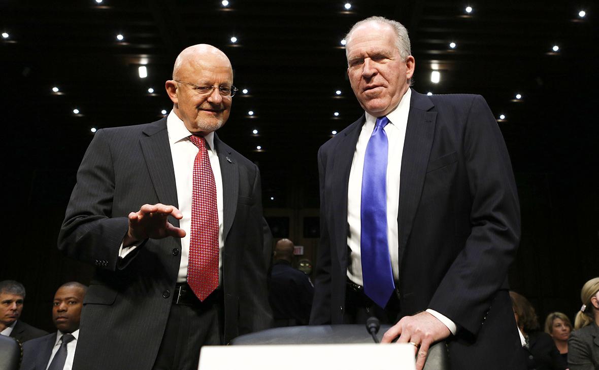 Джеймс Клэппер иДжон Бреннан(слева направо)