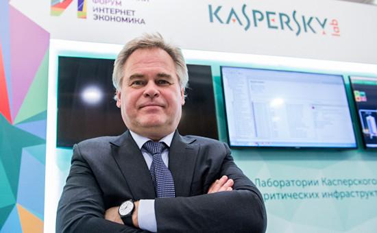 Глава «Лаборатории Касперского» Евгений Касперский, декабрь 2015 года