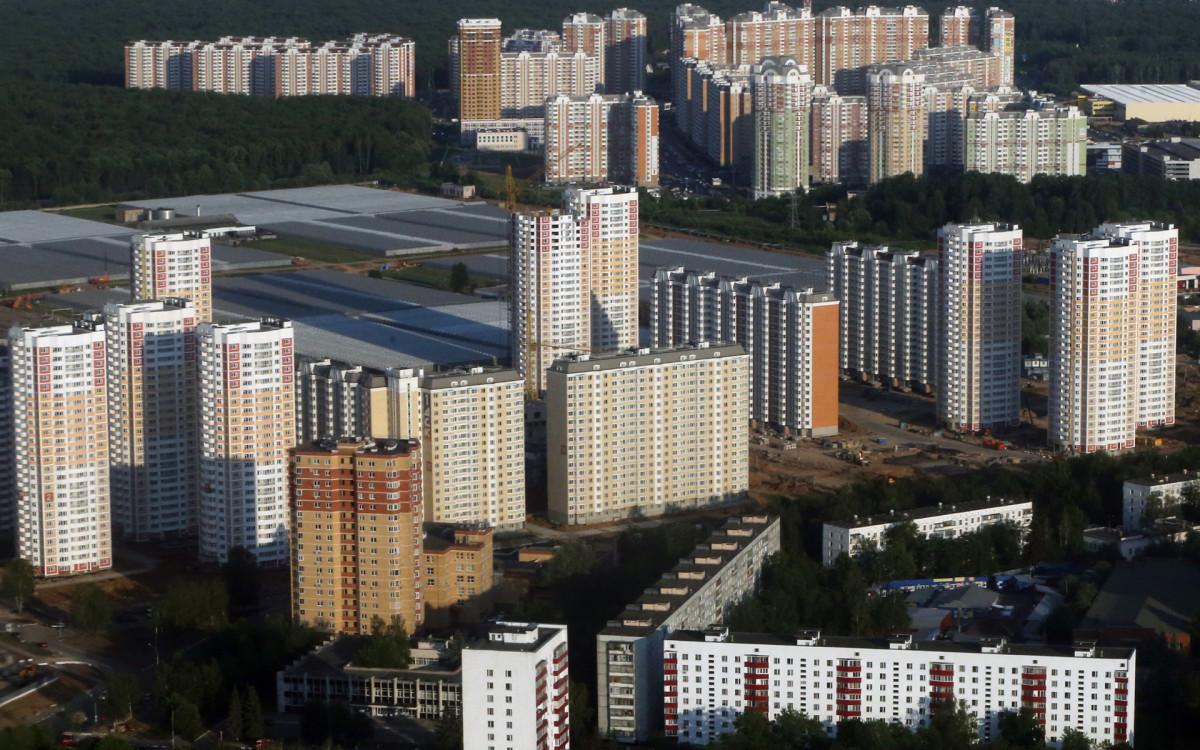 Виды Новой Москвы (пос. Московский)