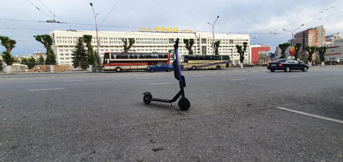В Перми заработал первый сервис проката электросамокатов