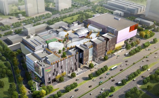 Визуализация торгового центра «Капитолий» наюге Москвы